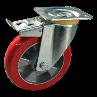 Zwenkwiel geremd 200 mm serie 03 - 16