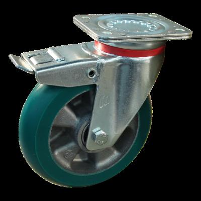 Zwenkwiel geremd 200mm serie 03 - 17