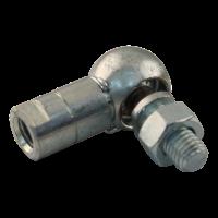 WG35 CS16 links mit Dichtkappe kogelgewricht, radiaal Links met stofkap WG35LSK M10 inb. 35 verzinkt