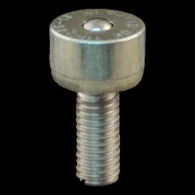 Bille de manutention mini Ø4,8 type 13 (bille d'acier, boîtier galvanisé)