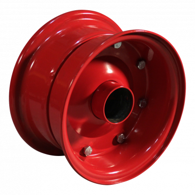 Rad 4.40D-8 ET0 Kugellagersitz NL100 Stahl, Rot