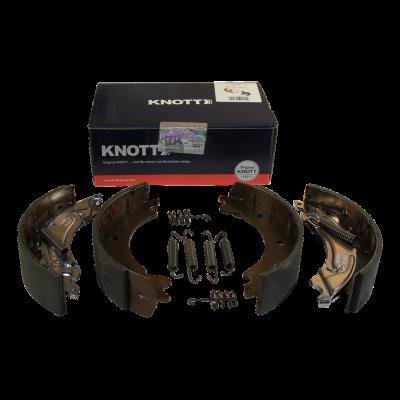 Brake block set Knott 20-2425/1 200x50 spreiz backmatic Premium Qualität