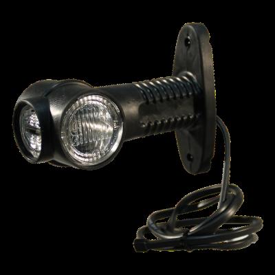 """Contourlamp Aspöck Superpoint III """"kort"""" DC kabel 1000mm"""