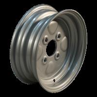 Rad 3.50Bx10H2 ET-2,5 60/100/4 Stahl, grau