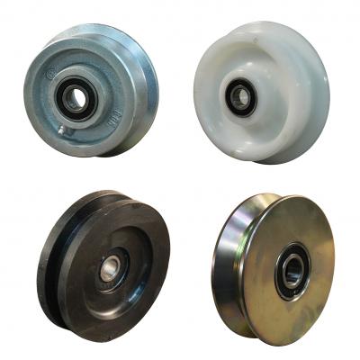 Flanged wheels