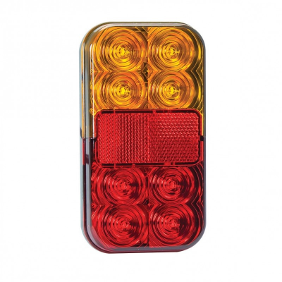 Rear lamp 2-pack universal 40cm cable 12v