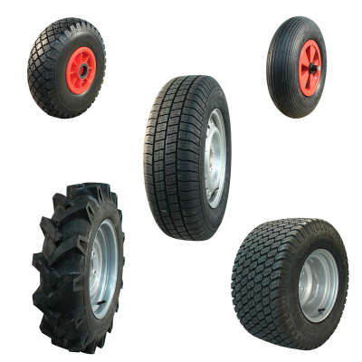 Wheels with pneumatic tyres