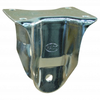 Fixed castor 169.5 Plate mounting 125mm serie 75 - 14