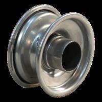 Rad 1.50x3 ET0 Rollenlagersitz Ø30.2 NL60 Stahl, grau