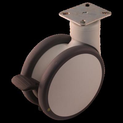 Roulette pivotante 150mm série 55 - 77