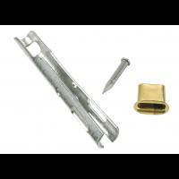 End piece tir-cablel rivet rivet oval Ø6 Ø6mm 2.9mm x 21mm