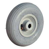 Pneumatic tire wheel 200x50 HF-207A 2PR serie 60