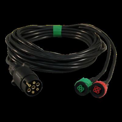 Cable harness 7-poles 5m 5-poles bayonet
