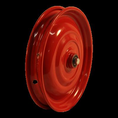 Rad 12 1/2X2 1/4 ET0 NL60,5 Stahl, Rot