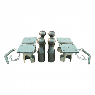 Tipping ball set, 3-sides 3500kg