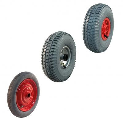 Roue complète pneu gris