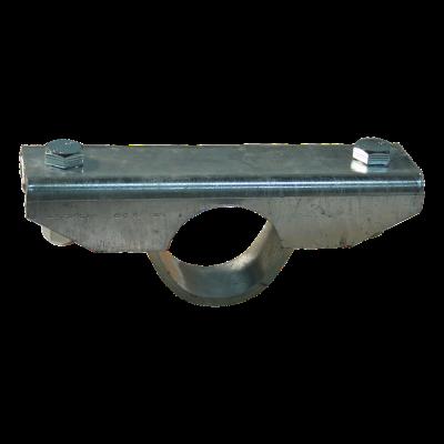 Patin de serrage avec support Ø60mm zingué