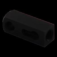 Bedieningsblok, kabelbediening, haakse uivoering L=35mm.