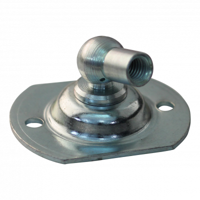 Mounting plate with ball, ball pan and retaining bracket BA20/K10+PF18 zinc plated Max 650N.