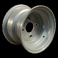 Komplettrad 16x6.50-8 V-8501 4PR + 5.50x8H2 ET0 60/100/4 Stahl, grau
