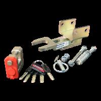 Fixed Lock AK301 SCM 2x horizontal (AL-KO) M12