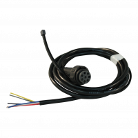 Kabelboom met open eind links 2m bajonet 8-polig , vertakking 1x 500 DC