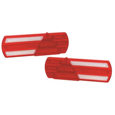 Rear lamp 2-pack Set 40cm cable 12/24v
