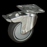 Lenkrolle mit Feststeller 75mm Serie 68-60