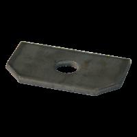 Ankerplaat versterkingsplaat 326F003 350x60 ∅ 90x50mm 326F003