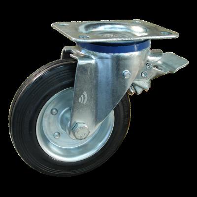 Lenkrolle mit Feststeller 200mm Serie 02 - 12