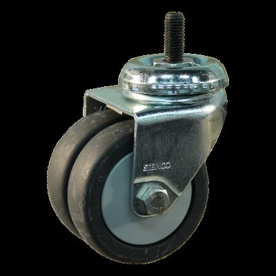 Roulette pivotante 75mm serie 64 - 42