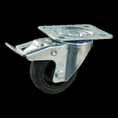 Lenkrolle mit Feststeller 80mm Serie 01 - 13