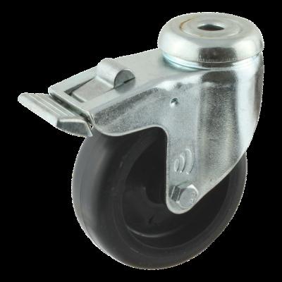 Lenkrolle mit Feststeller 75mm serie 65 - 60
