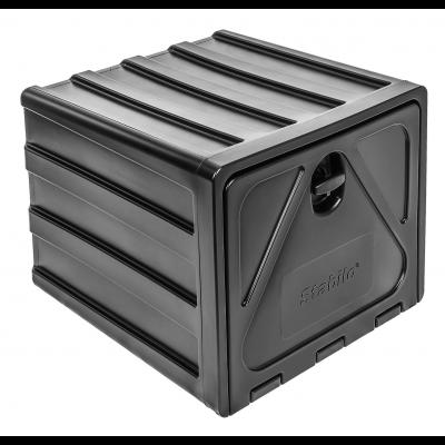 Tool box plastic, Stabilo®-box 600-2, swing-lock with lock 600x500x650mm