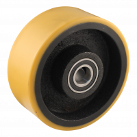 Fixed castor 150mm series 28 - 20 M12x100