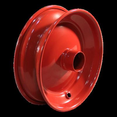 Rad 2.50Ax8 ET0 Kugellagersitz NL136 Stahl, Rot