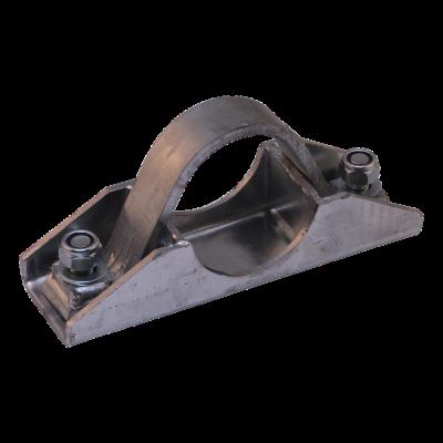 Patin de serrage avec support Ø70mm zingué