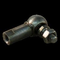 Kogelgewricht, radiaal WG22 M5 inb. 22 RVS 316
