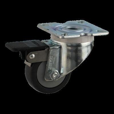 Lenkrolle mit Feststeller 50mm serie 64 - 40