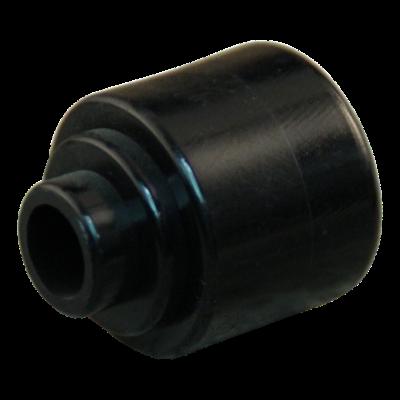 Kugellagerkappe für Nabenlänge 50 Ø23mm PA, Tiefschwarz RAL 9005