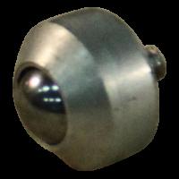 Ball fixing unit mini Ø7,9 type 17 (stainless steel ball, aluminum housing)