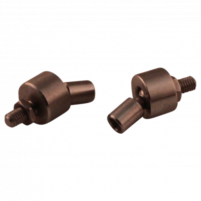 Adapter for blocking pipe M8 SS AISI 316