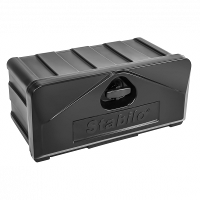 Tool box plastic, Stabilo®-box 500-4, swing-lock with lock 530x250x300mm