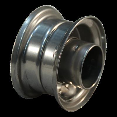 Rad 1.50-3 ET0 NL75 Stahl, grau