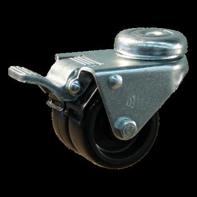 Lenkrolle mit Feststeller 50mm serie 65 - 62